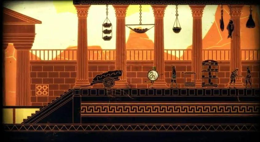 壁画のようなビジュアル ギリシャ神話を舞台にしたARPG【Apotheon】