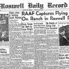 ロズウェル事件の真相 円盤は飛んでいたけど宇宙人の乗り物ではなかった