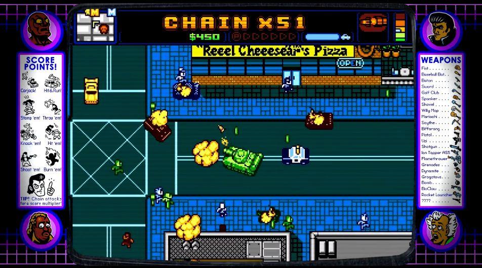 『Retro City Rampage』のXBLA版とWiiWare版が審査中らしい WiiWareは今月中に配信か
