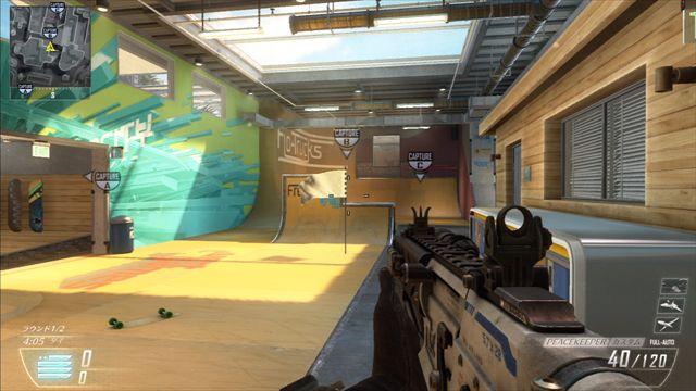 【CoD:BO2】Revolution追加MAPのDomination旗場所(画像あり)