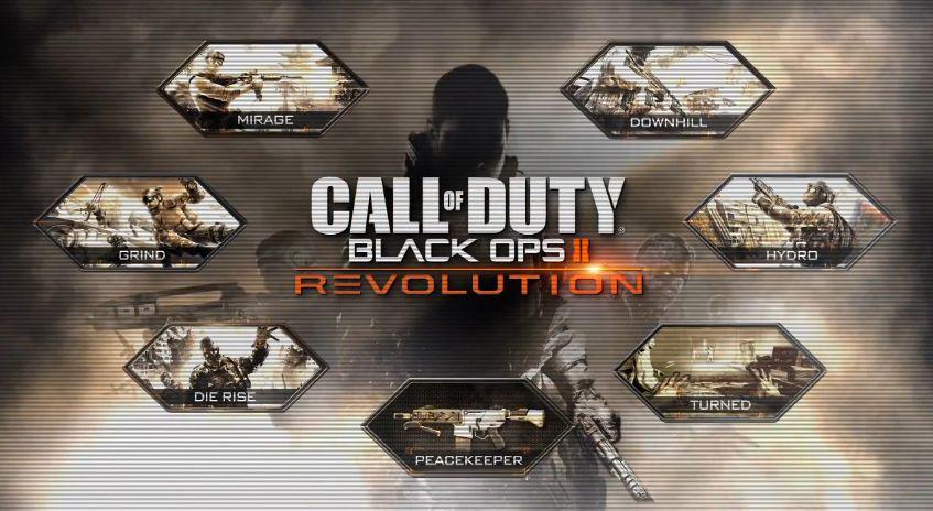 【CoD:BO2】DLC『Revolution』レビュー 見た目は新鮮だが堅実な追加