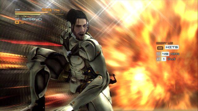 【メタルギア ライジング】DLC第2弾サム編 とにかくクリアを目指す攻略