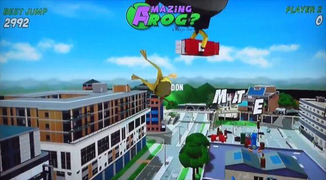 【Amazing Frogs】OUYAのゆかいなゲーム くやしい…ぐにゃぐにゃのカエルが飛んでるだけなのに…