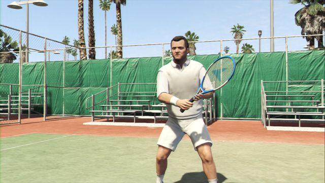 【GTA5】プレイ日記3 ギャングたちの休日はテニスにゴルフにトライアスロン