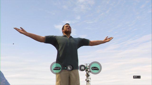 【GTA5】プレイ日記5 山頂でヨガをやって肉体と精神のリフレッシュ