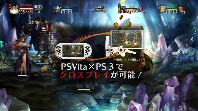 【ドラゴンズクラウン】PS3とPS Vitaのクロスプレイ対応を含む第4弾アップデートが配信 新オプションにスキル調整も