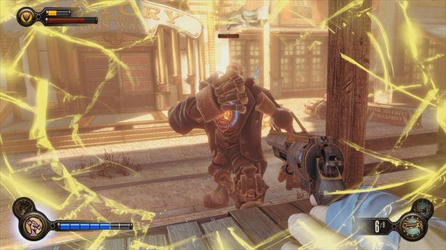 Bioshock Infinite 体力とシールドの2段階制