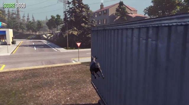 Goat Simulator パッチ1.1 軽快にパルクールするヤギ
