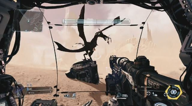 Titanfall mythbusters ドラゴンに格闘