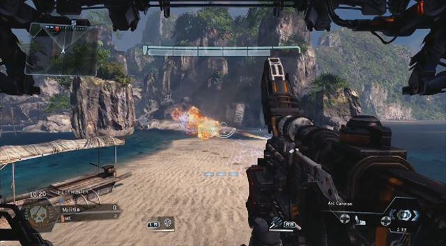 Titanfall mythbusters アークキャノンでロケットを破壊