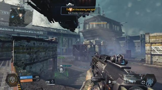 Titanfall mythbusters 脱出船にタイタン投下