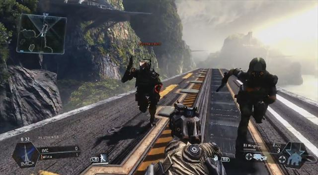 Titanfall mythbusters第2弾 スペクター迷彩を使っても走る速さは変わらず