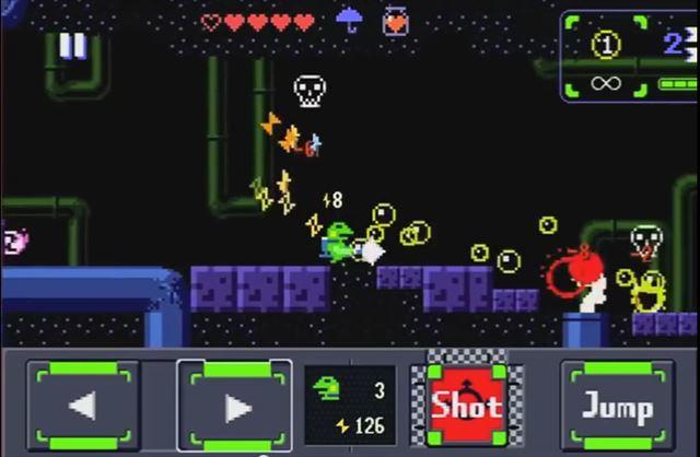 【Kero Blaster】『洞窟物語』の開発室Pixelのファミコン風2Dアクションが5月11日に配信決定