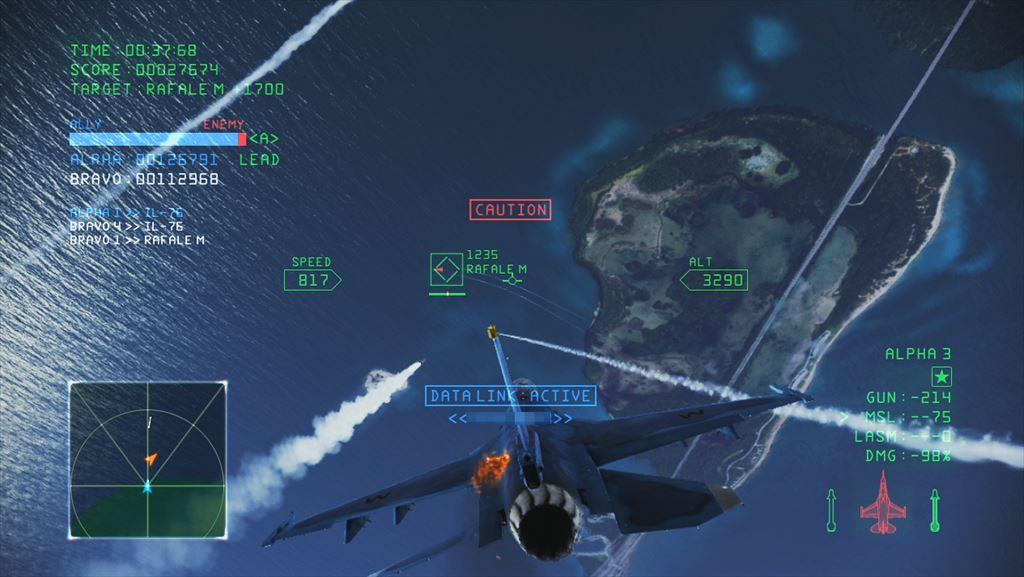 Ace Combat Infinity F-2A