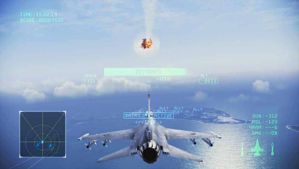 Ace Combat Infinity キャンペーンのミッション2まではチュートリアルの延長