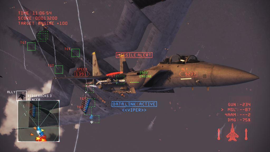Ace Combat Infinity 1stインプレッション