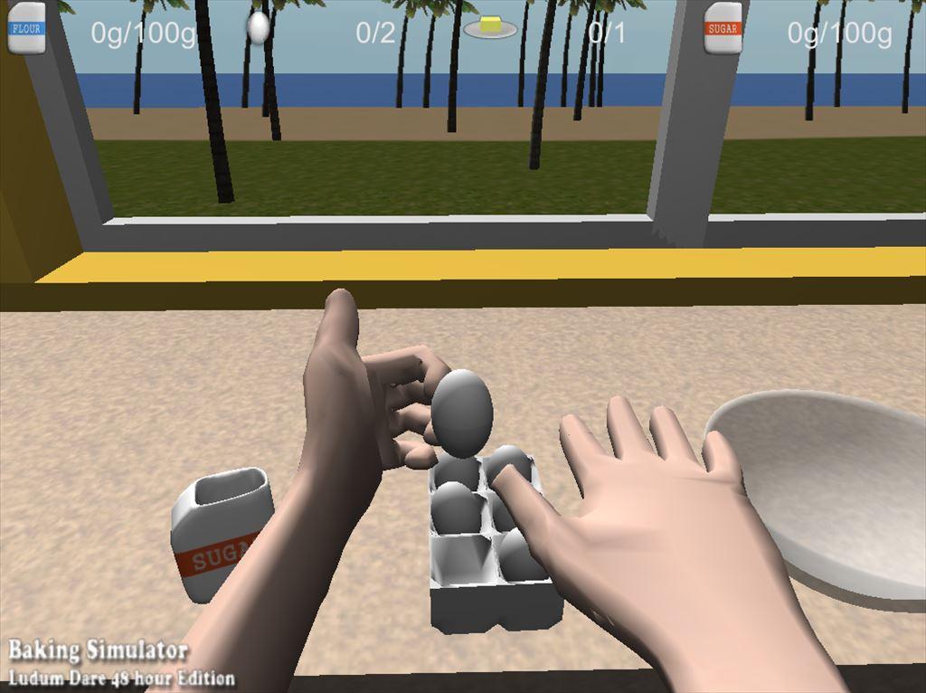 Baking Simulator タマゴもつかめる