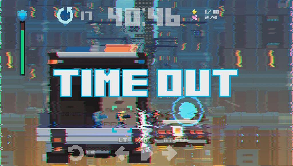 Super TIME Force レビュー 時間を戻してさっきの自分と共闘できるタイムアウトシステム