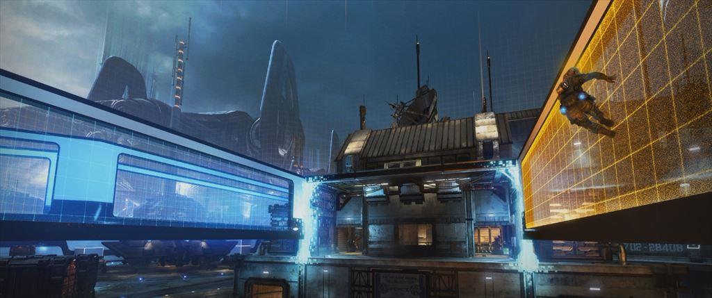 Titanfall DLC第1弾「Expedition」 シミュレータのマップWargames