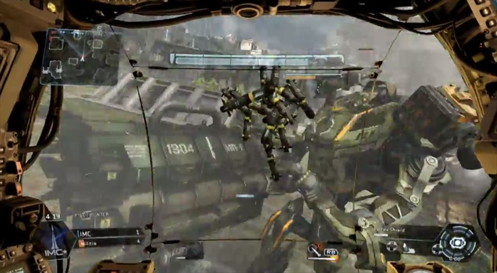 Titanfall mythbusters 4弾 ・ヴォーテックスシールドでとった弾を格闘攻撃でぶつけることができる