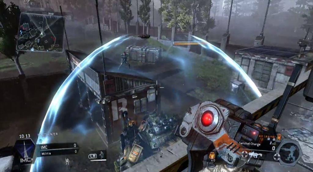 Titanfall mythbusters 4弾 ドームシールドに貼った梱包爆弾はシールドが消えた後タイタンに貼りつく