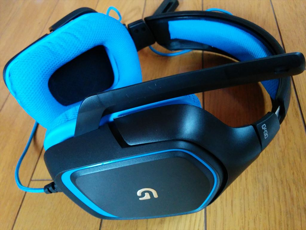 logicool Gaming headset G430 レビュー