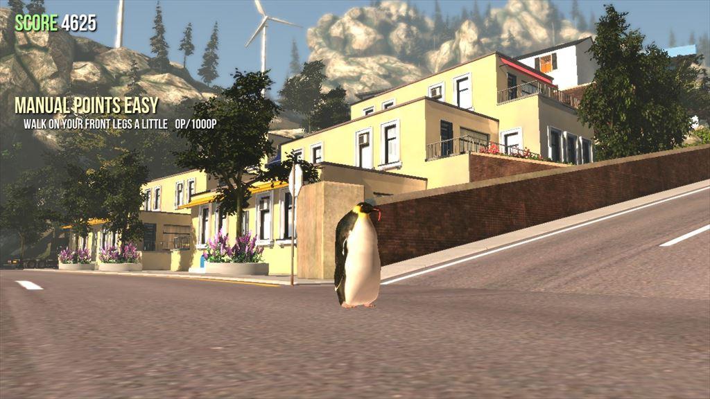 Goat Simulator 1.1 ペンギン型のヤギ
