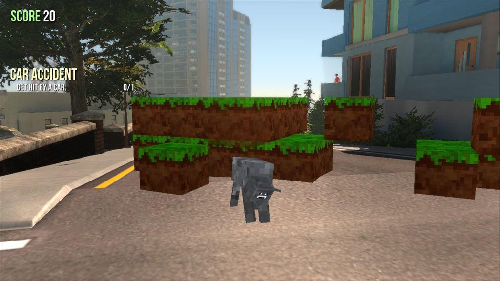 Goat Simulator 1.1 マインクラフト風ヤギ