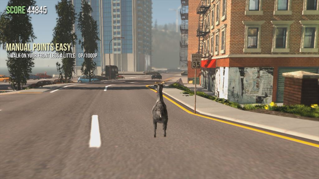 Goat Simulator 1.1 新マップは都会風