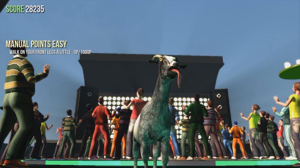 Goat Simulator 1.1 屋上はダンスフロア