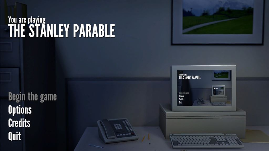 【The Stanley Parable】日本語の字幕を表示する方法