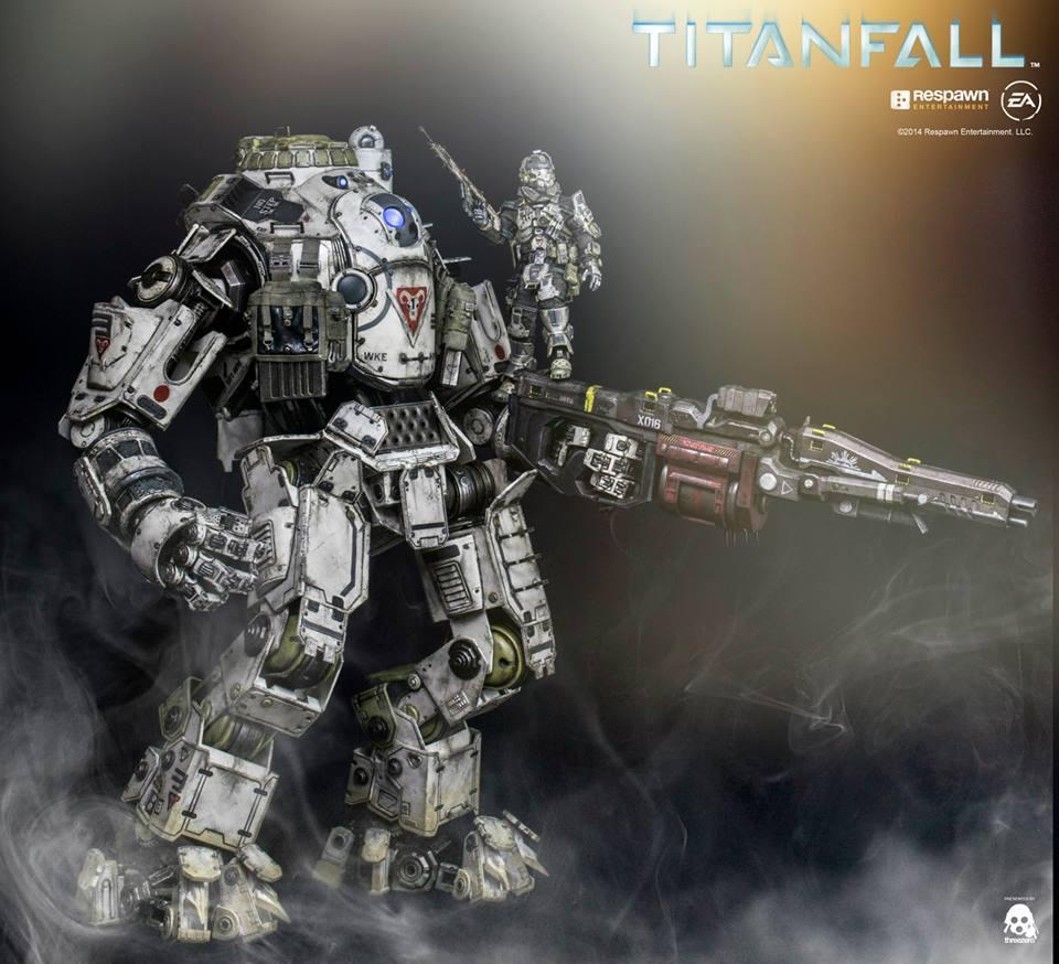 【Titanfall】1/12スケールのフル可動アトラスとパイロットフィギュアが予約開始