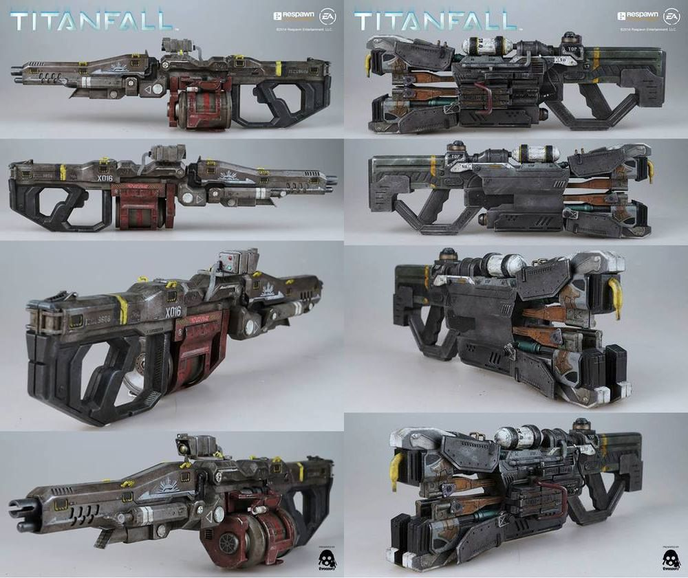 Titanfall weapon figure