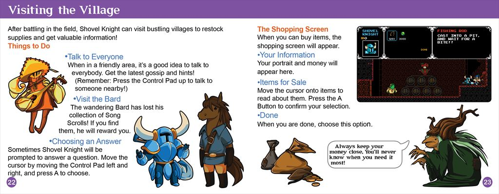 Shovel Knight Manual2