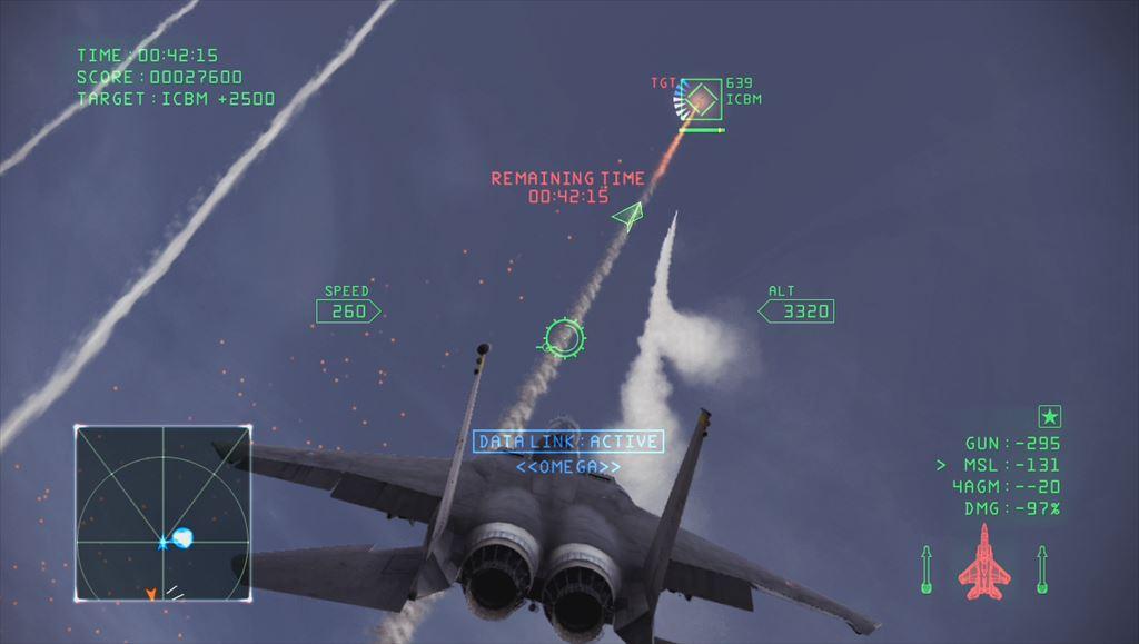 Ace Combat Infinity キャンペーンミッション6の最後はミサイル迎撃