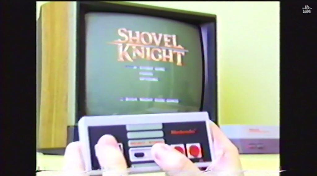 Shovel Knight 80年代風の攻略動画