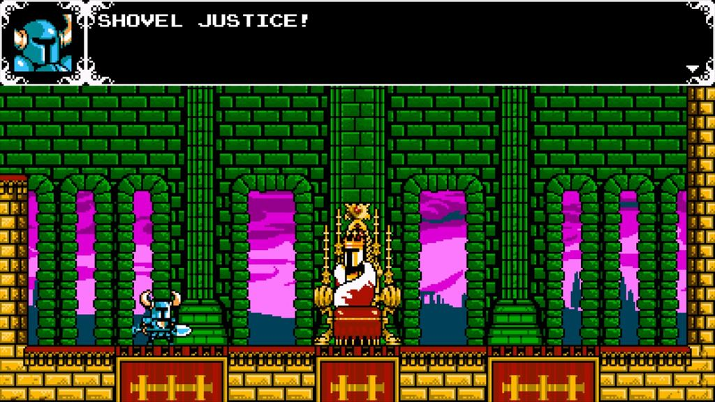 Shovel Knight Shovel Justice!