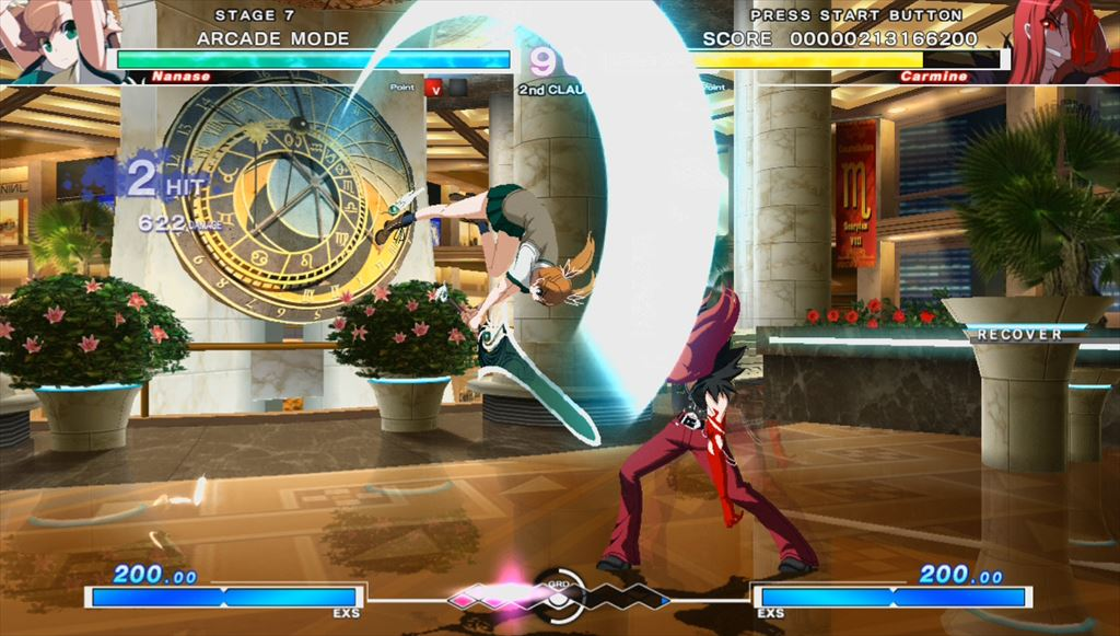 UNDER NIGHT IN-BIRTH Exe:Late 中段はアサルトで