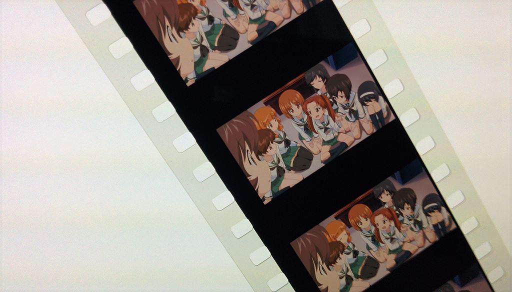 ガールズ&パンツァー OVA先行上映会の特典フィルム