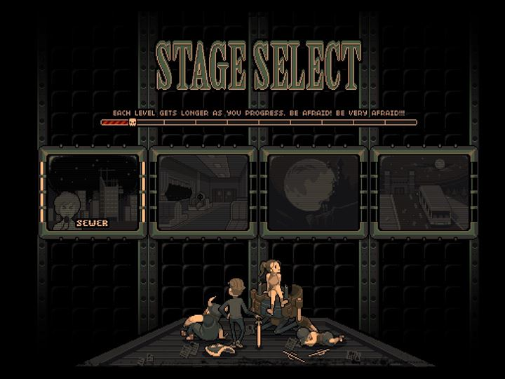 Devil's Dare ステージセレクト