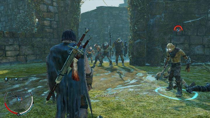 Shadow of Mordor 多数のオークを味方に率いる