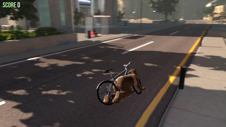 Goat MMO Simulator クマの乗る自転車