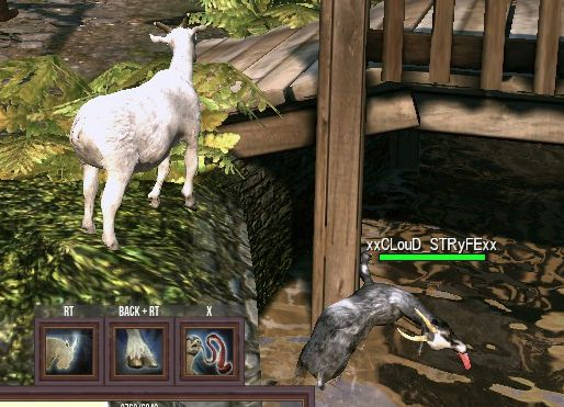 Goat MMO Simulator cloud