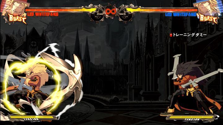 GGXrd レオ 黄色ロマンキャンセル