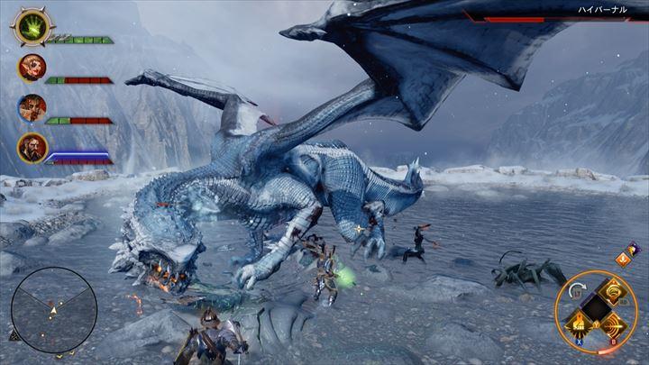 Dragon Age Inquisition ドラゴンとの戦い