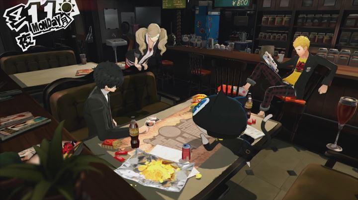 Persona5 主人公たちのアジト
