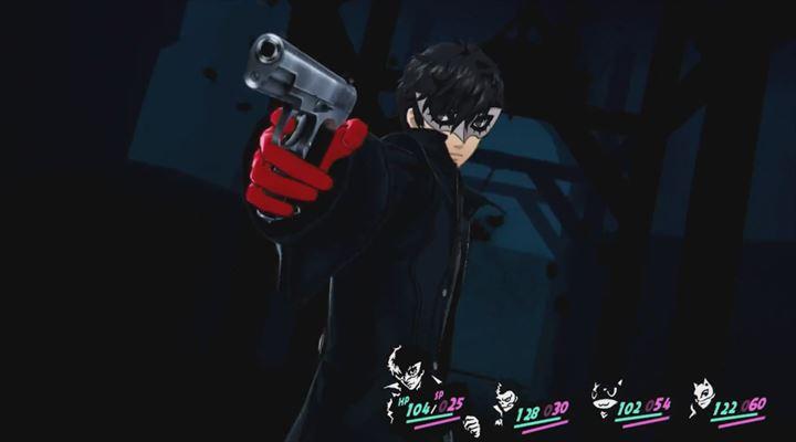 Persona5 バトルシーン