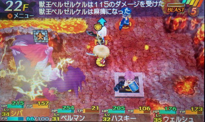 世界樹と不思議のダンジョン 第7迷宮のDOE戦