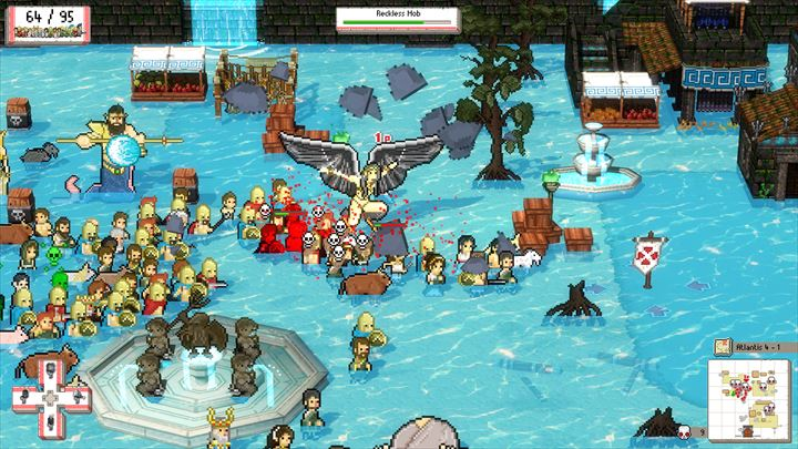 Okhlos 水上のステージも