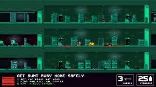 「もぐらゲームス」にて血と鉛弾の2Dアクションシューター『NOT A HERO』のレビューが掲載されました